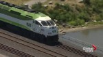 Extreme heat and 'sun kinks' on the rails could slow down GO Train and UP express