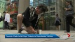 Toronto sidewalk artist gets recognized by the consul general for Great Britain