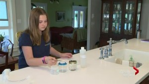Girl's tests on river water reveals pollution worse than thought