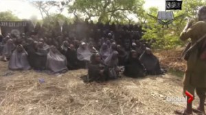 The leader of the Nigerian militants that kidnapped 276 schoolgirls says he won't release them unless the government frees jailed members of his group.
