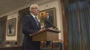 Selinger avoids ticket scandal questions