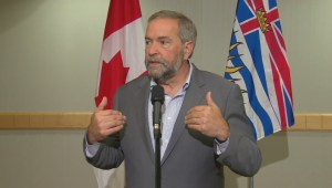 Mulcair responds to attacks on NDP oilsands policy