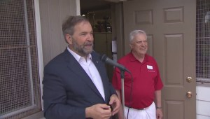 Thomas Mulcair sends his Canada Day greetings to all Canadians