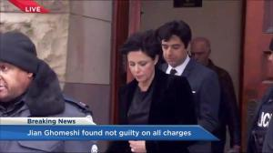 Jian Ghomeshi, Marie Henein depart courthouse following not guilty verdict