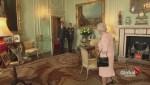 Justin Trudeau visits Queen Elizabeth II