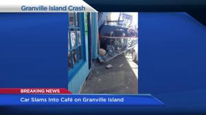 Fatal pedestrian involved crash on Granville Island