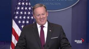 Spicer: Trump's 'military operation' comment was an adjective
