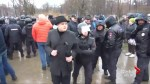 Russians protester urge President Putin to not run for forth term