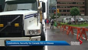 New security measures implemented for Canada 150