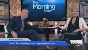 Could fecal transplants help you lose weight?
