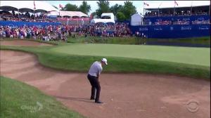 David Hearn gets standing ovation as he comes up just of winning the Canadian Open
