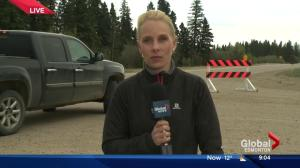 Fort McMurray grows to 200,000 hectares Sunday Morning