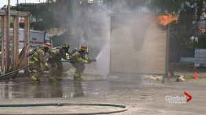 B.C. firefighters attend training in Kelowna
