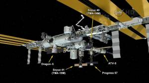 Crew safe after partial evacuation of International Space Station