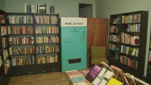 The Biblio-mat: the world's first randomizing antique book vending machine