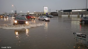 Heavy weekend rains causes flooding in Thunder Bay