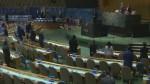 UN holds Chernobyl tribute as Ukraine, Russia exchange icy rhetoric