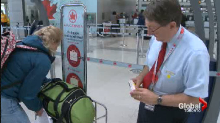 Air Canada begins crackdown on oversized carry-on baggage ...