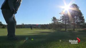 Winter doesn't stop diehard Lower Mainland golfers