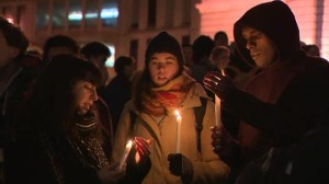 Vigil held for Michael Brown and Ferguson at McGill University