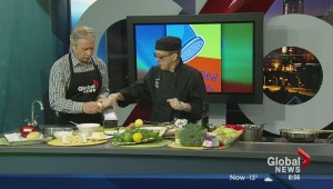 In the Global Edmonton kitchen with Seasoned Solutions