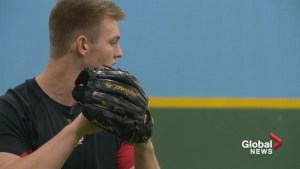 Calgary pitcher climbing the rankings of top MLB prospects as spring training arrives