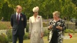 Duke and Duchess of Cambridge visit war graves in Ypres