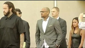 Singer Chris Brown pleads guilty to assault charge