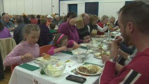 Alberta town celebrates 100th turkey dinner