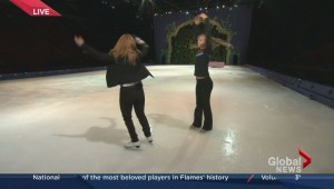 Skating lessons for Jess