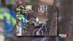 Close call for group of OHV users in the Porcupine Hills