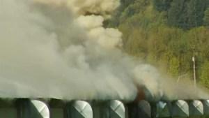 Medical grow op fire in Chilliwack