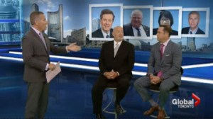 Global News panel talks about Rob Ford's chances in the election