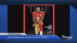 Colin Kaepernick gets Time Magazine cover
