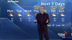 Edmonton Weather Forecast: Jan 15