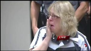 Woman who allegedly helped 2 men escape NY prison cries in courtroom