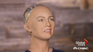 Meet Sophia, the human-like robot that wants to be your friend and also 'destroy humans'