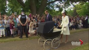 9-week-old Princess Charlotte christened at Royal's country estate