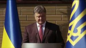 Ukrainian President lashes out at Vladimir Putin