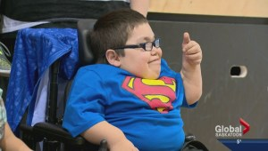 Wish granted for young Maple Leafs fan from Saskatchewan