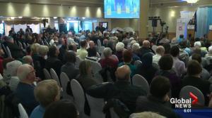 Alberta PC party leadership debate heats up