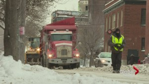 Saint-Henri residents ticketed during snow removal