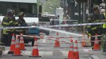 RAW: Manhole explosions in NYC snarls city traffic