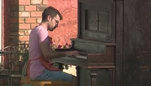 Pianos gracing Edmonton's Alberta Avenue prove to be popular