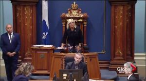 Quebec National Assembly back in session