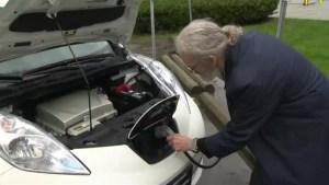 BC Hydro's electric car plug-in app