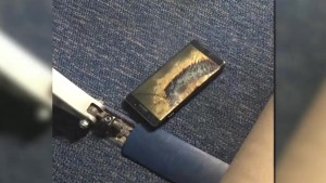 Passenger's Samsung Galaxy Note 7 forces plane evacuation after replacement phone begins smoking
