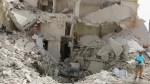 U.S., Russia trade blows over Syria as warplanes pound Aleppo