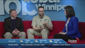 Assiniboine Park Zoo caiman bites into the Morning News