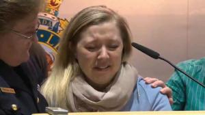 Wife of Cst. David Wynn gives an update on his condition